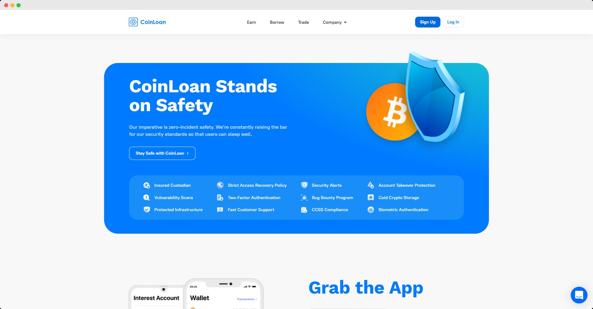 crypto loan security