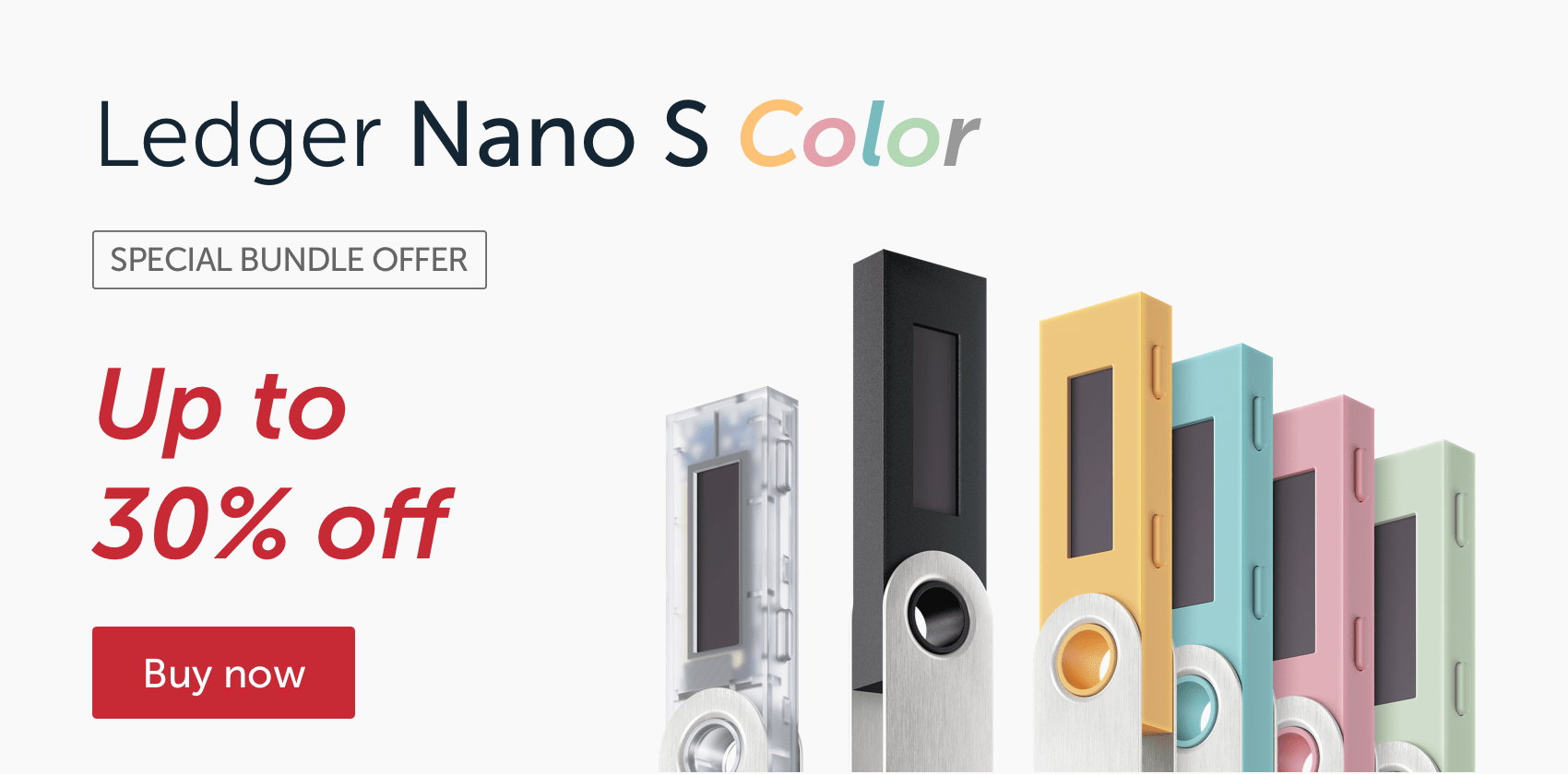 Ledger Wallet Nano S Black Friday Cyber Monday 2021 Discount Promo Code