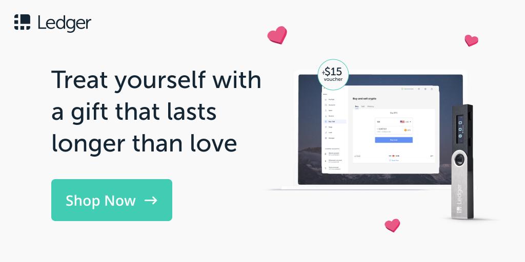 Ledger Valentines Day discount sale 2021 promo code